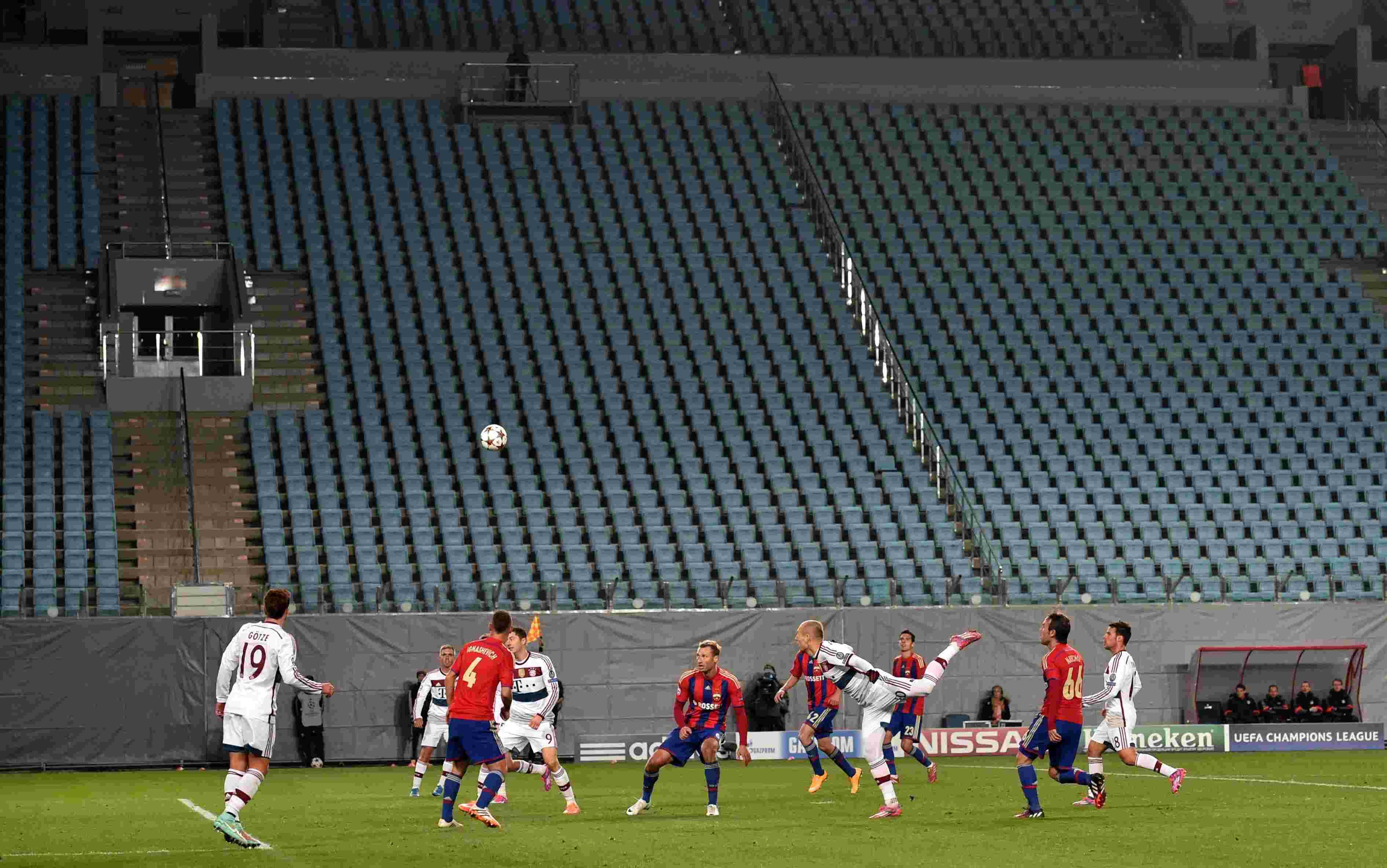 Футбол без зрителей – нелепость