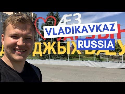 Английский блогер побывал в Северной Осетии и рассказал о городе на своем YouTube канале
