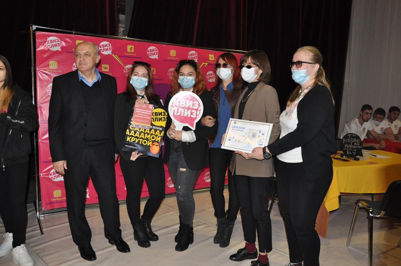 Студенты ГГАУ сразились в интеллектуальном турнире «Квиз, Плиз!»