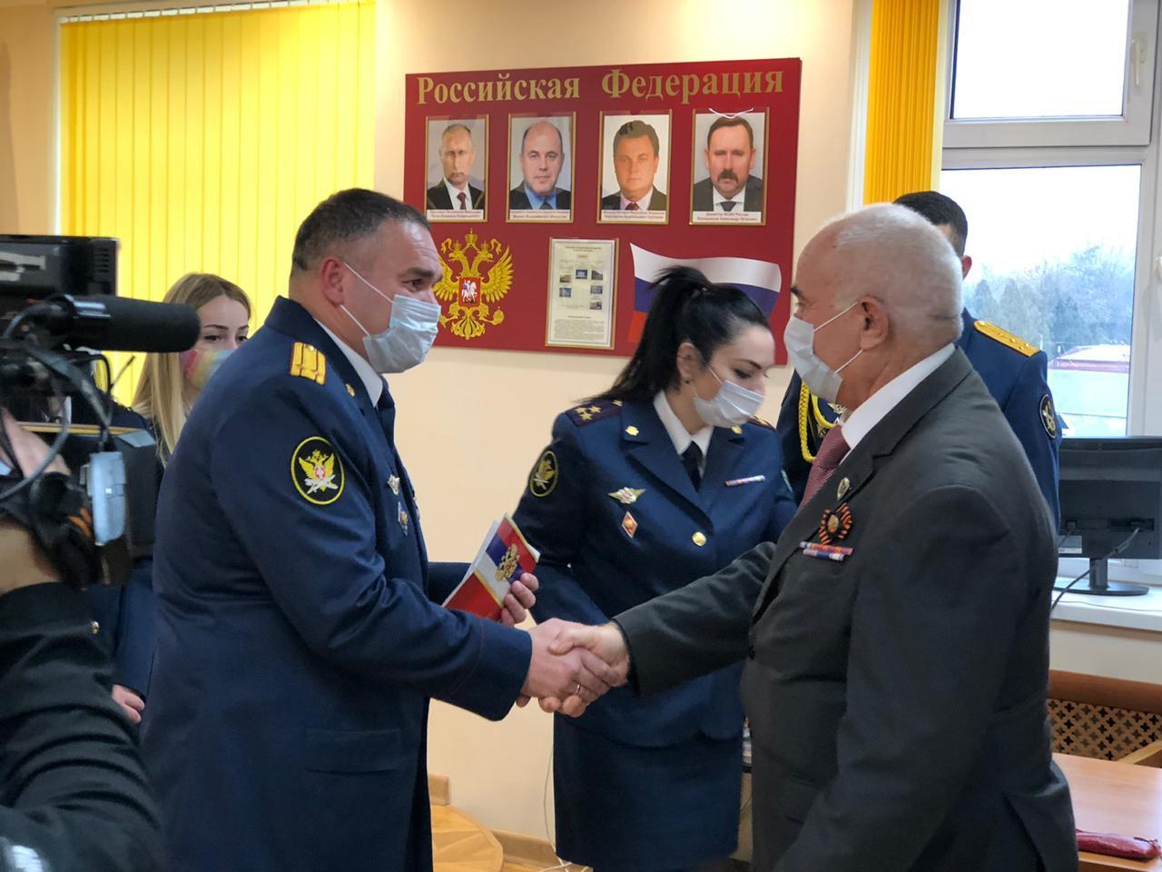 Руководство и сотрудники УФСИН по РСО-Алания поздравили своих ветеранов с
