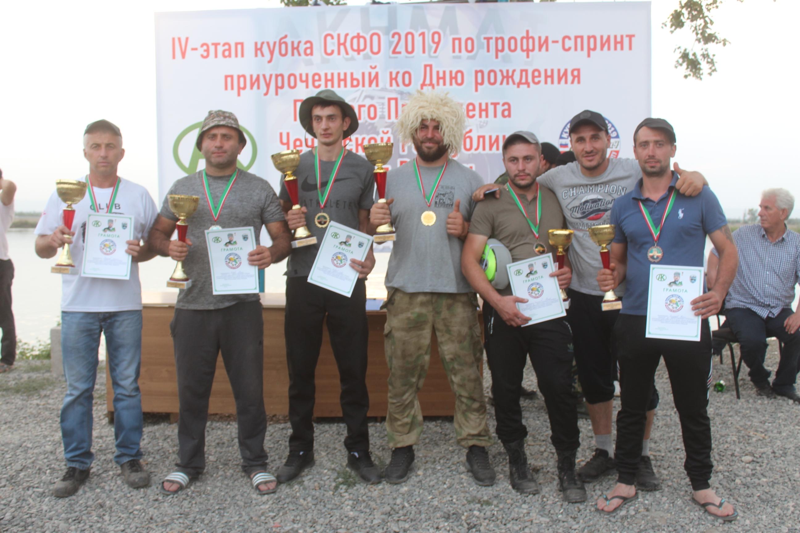 В станице Ассиновской Чеченской Республики прошел 4-й этап Кубка СКФО по трофи-спринту