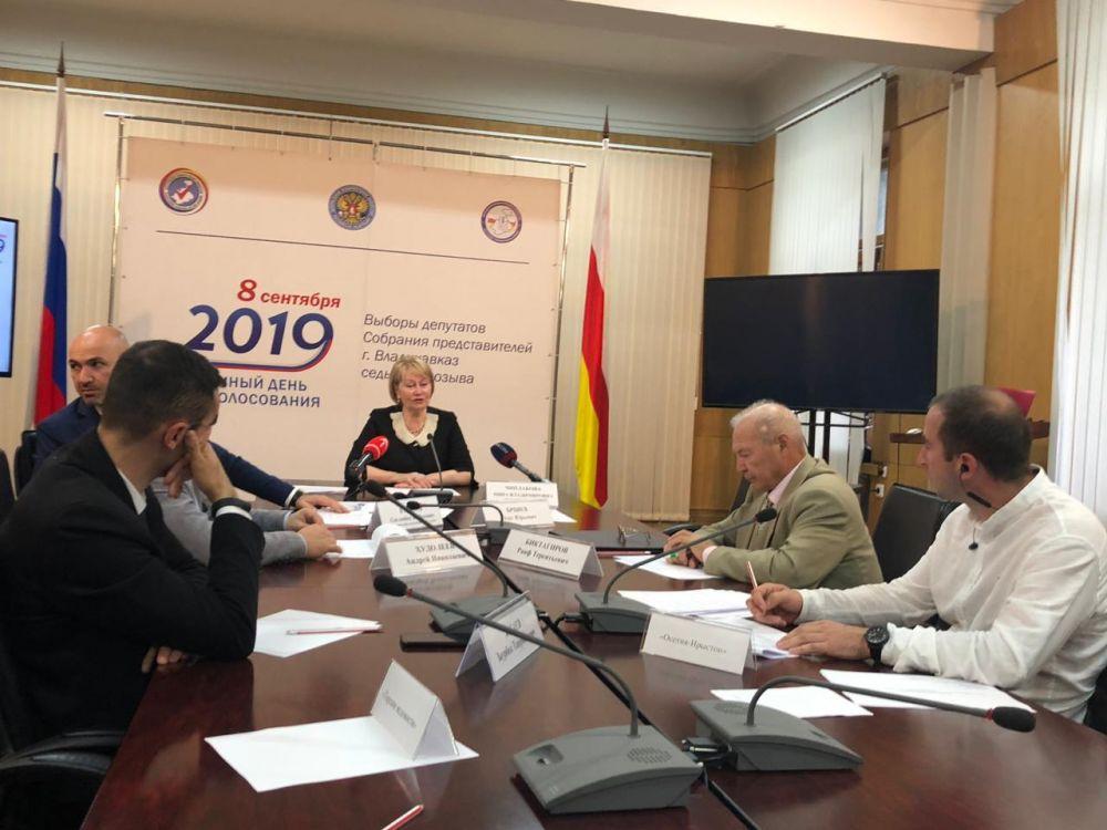 Более 180 наблюдателей от Общественной палаты Северной Осетии были направлены на выборы