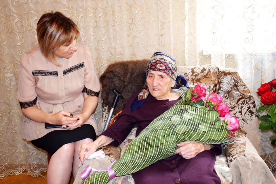 Столетний юбилей отмечает учитель осетинского языка Софья Кучиева