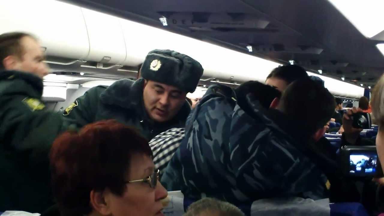Житель Северной Осетии стал участником пьяного дебоша на борту самолета