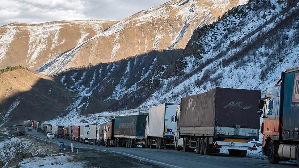 ВГД закрыта для большегрузов