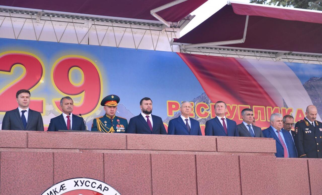 Вячеслав Битаров принял участие в торжественных мероприятиях в Южной Осетии