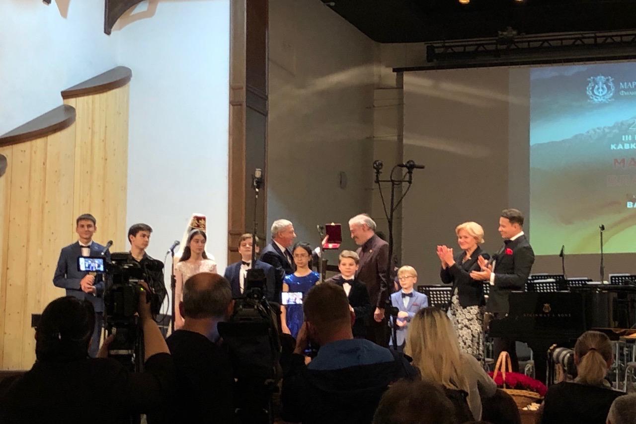 Валерий Гергиев награждён орденом Почетного гражданина республики