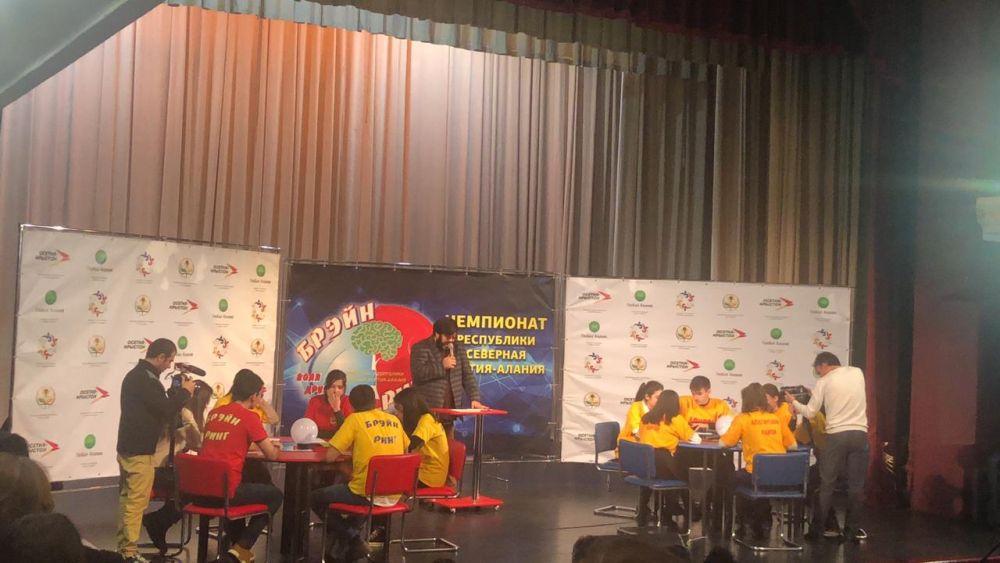 Во Владикавказе интеллектуальная игра «Брей-ринг» собрала рекордное количество команд