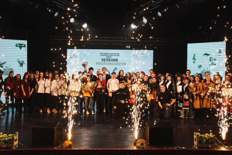 Финал уникального творческого фестиваля для первокурсников прошел в стенах СОГУ