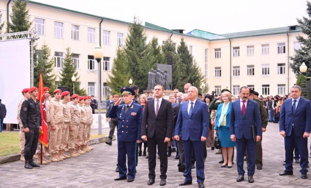 Единственную на Северном Кавказе военную кафедру торжественно открыли в СОГУ