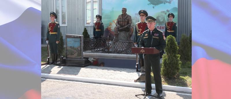 Виктор Золотов поздравил объединённую группировку войск на Северном Кавказе с 20-летием со дня образования