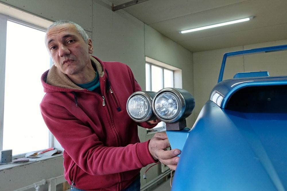 Самодельную копию знаменитого американского спорткара Lotus Seven запатентовал токарь из Северной Осетии