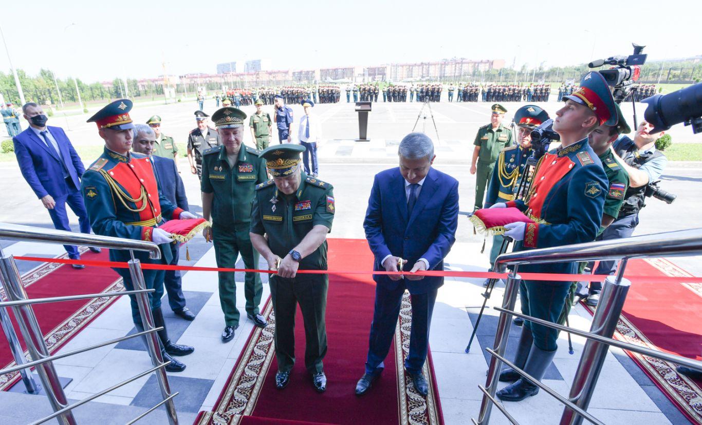 Новый комплекс Северо-Кавказского суворовского военного училища открылся во Владикавказе