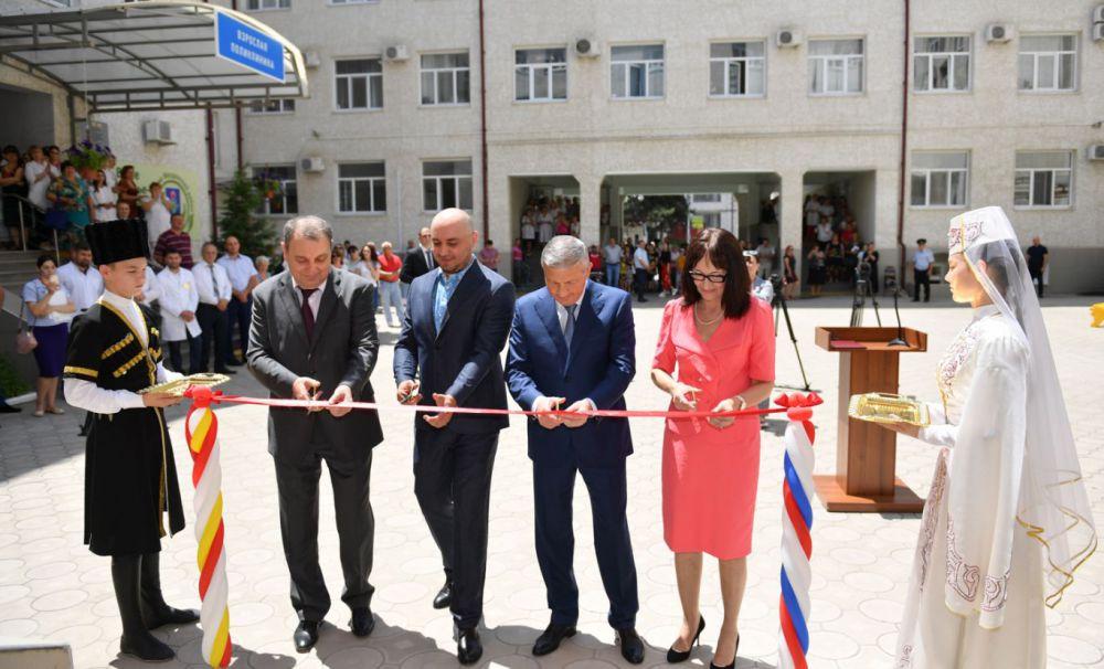 В Моздоке открылся новый корпус районной поликлиники