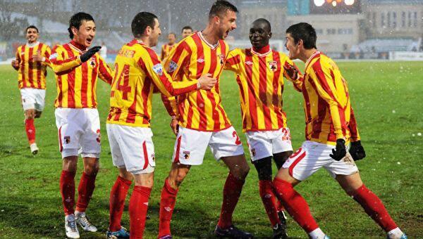 Футбольный клуб «Алания»  сегодня проведёт последний матч в уходящем году