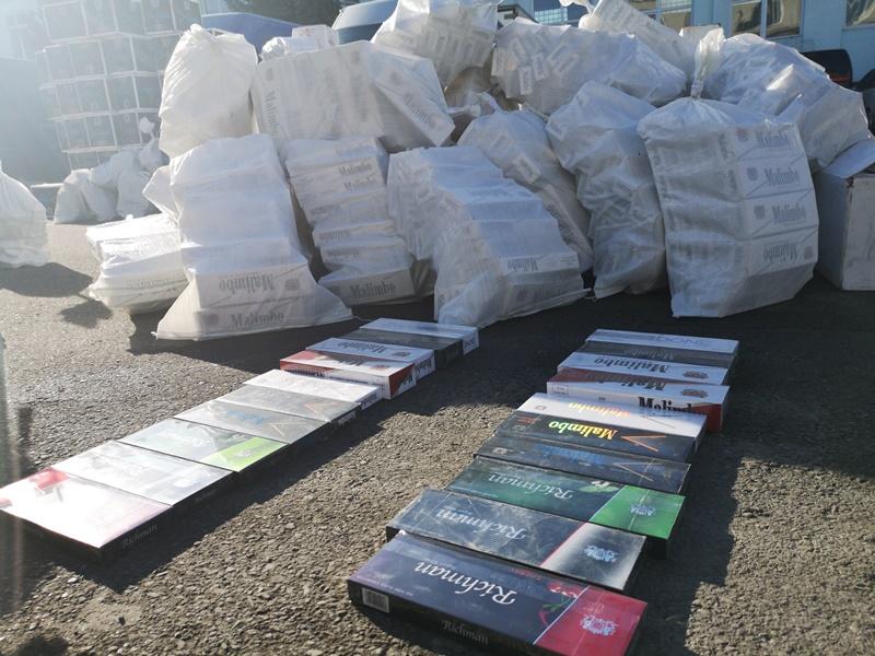 Более 170 тысяч пачек сигарет ОАЭ обнаружили североосетинские таможенники в цистерне для сжиженного газа