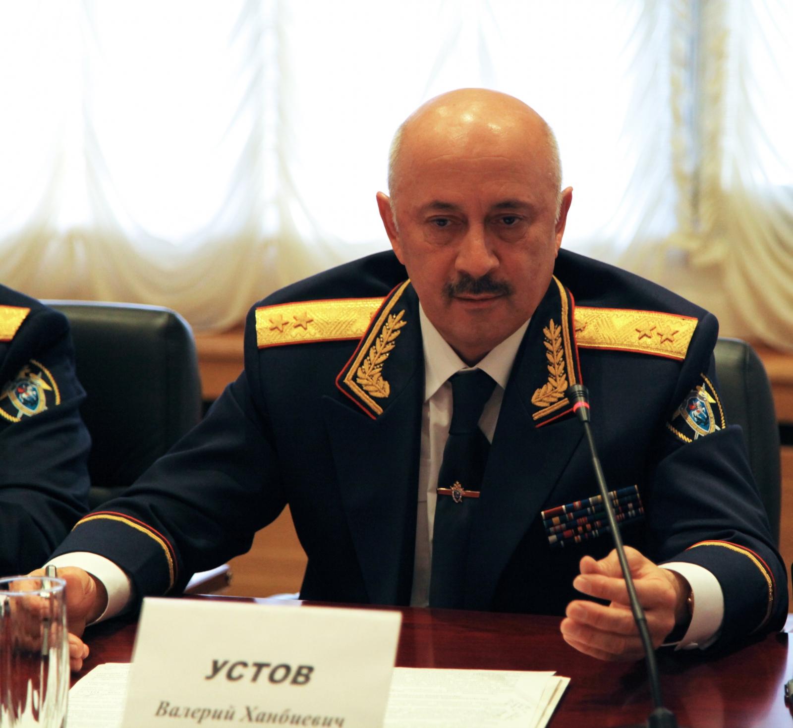 Руководителем Следственного комитета Северной Осетии назначен генерал-лейтенант юстиции Валерий Устов