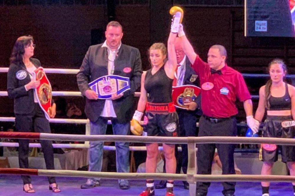 Фатима Дудиева стала чемпионкой мира по боксу