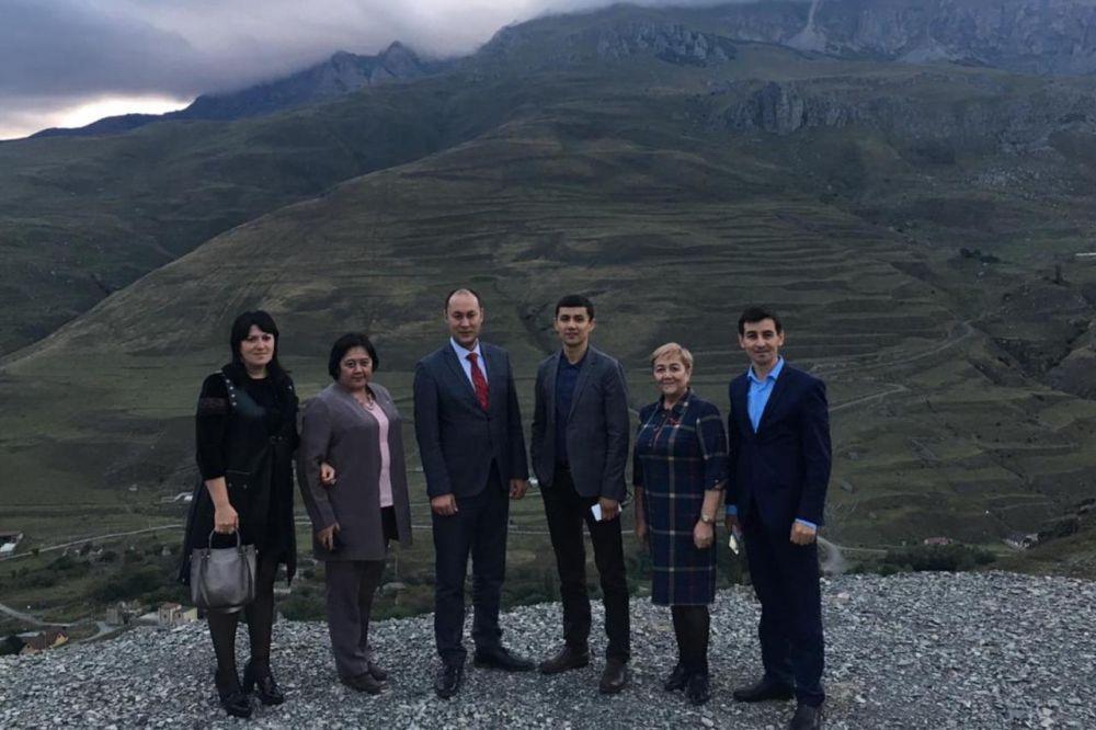 Делегация Министерства образования Башкортостана обменялась опытом с коллегами из Осетии