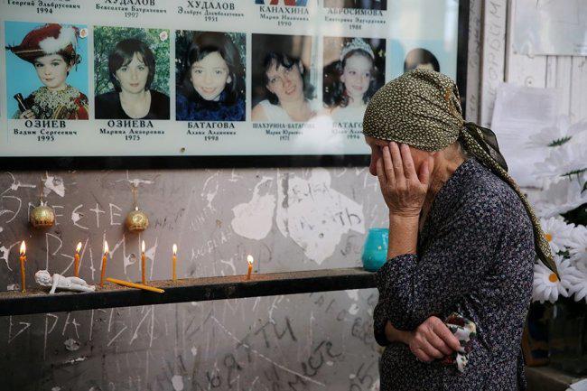 Надбавку к пенсии в 3 тыс. рублей будут получать родители совершеннолетних детей, погибших в теракте в Беслане