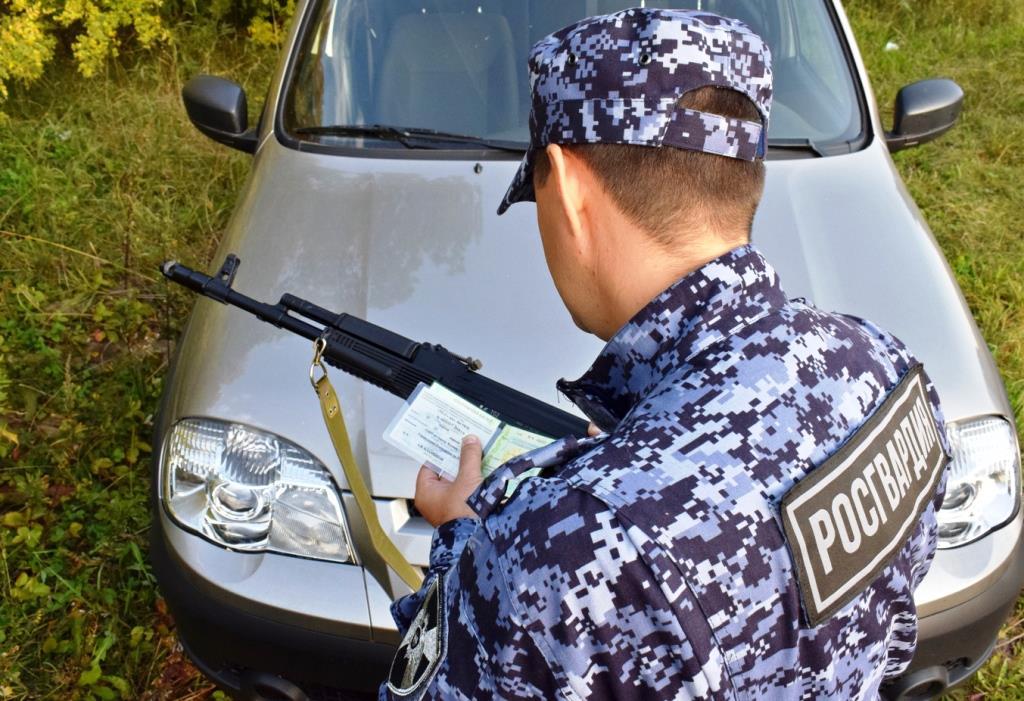 В Северной Осетии сотрудниками Росгвардии выявлен факт незаконной охоты
