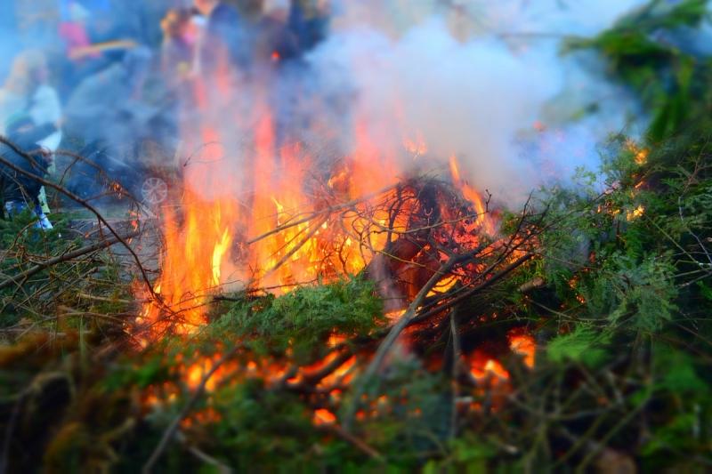 В степных районах республики сохранится пожароопасность