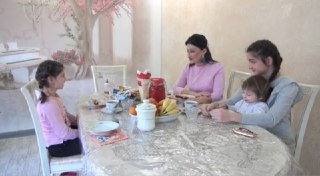 В эфире Первого федерального канала прозвучали слова благодарности на осетинском языке