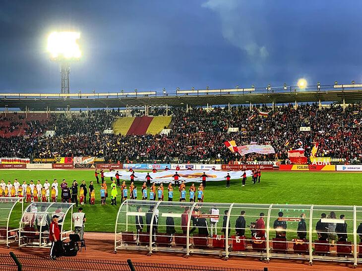 Красавы! Большой футбол снова в Осетии!