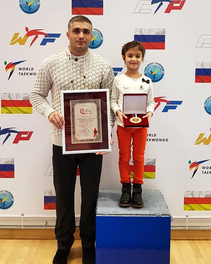 Пятилетняя Мария Пухова из Осетии занесена в Книгу Рекордов Гиннеса