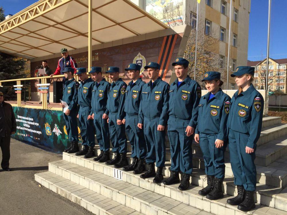 Студенты ГМТ представили Северную Осетию в финале военно-спортивной игры  «Зарница»