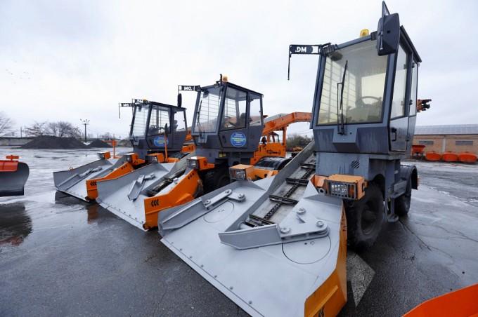 Дороги Владикавказа очищены от снега