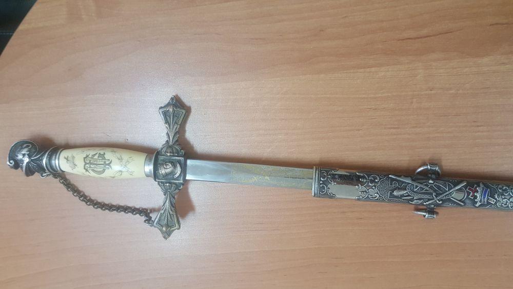 Масонский меч попытались провезти через «Верхний Ларс» из Грузии