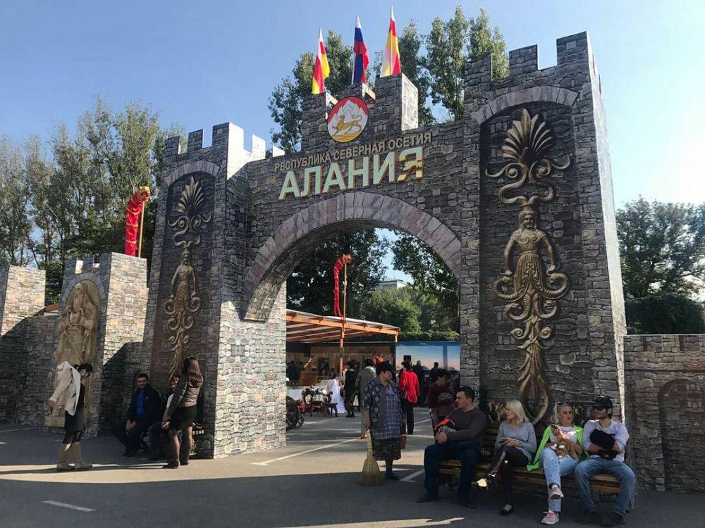 Фестиваль культуры и спорта Кавказа открылся в Северной Осетии