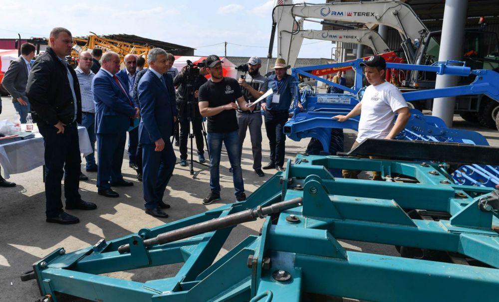 В Северной Осетии прошла выставка сельхозтехники «День поля – 2018»