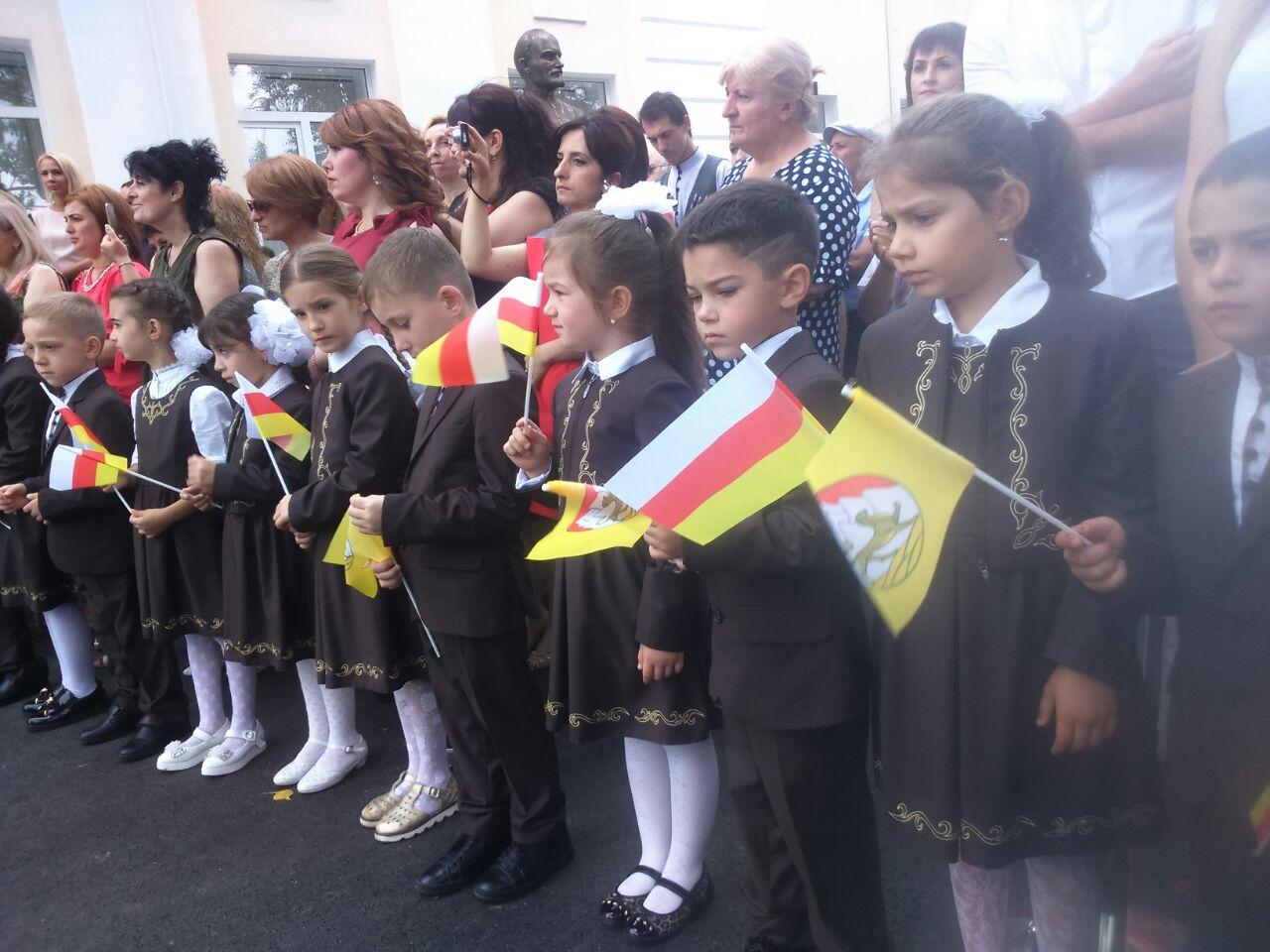 Аланская гимназия приняла своих первых учеников