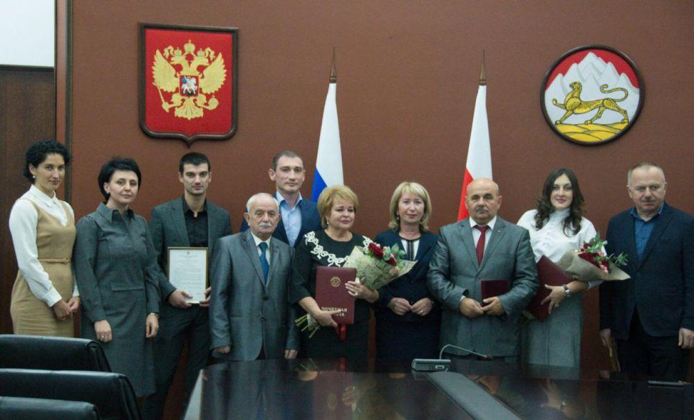 В Северной Осетии чествовали лучших членов ЦИК республики
