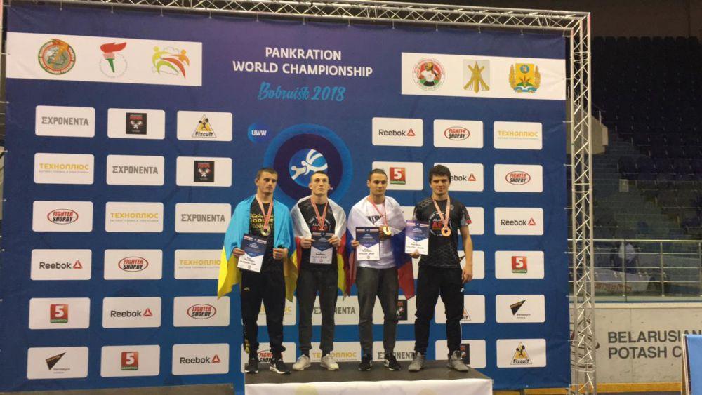 Сослан Гаглоев стал бронзовым призером чемпионата мира по панкратиону