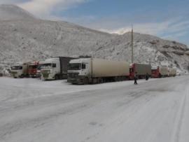 Военно- Грузинская дорога закрыта для всех видов транспорта