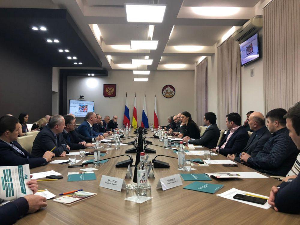 Татарстан поделился экономическим опытом с Северной Осетией