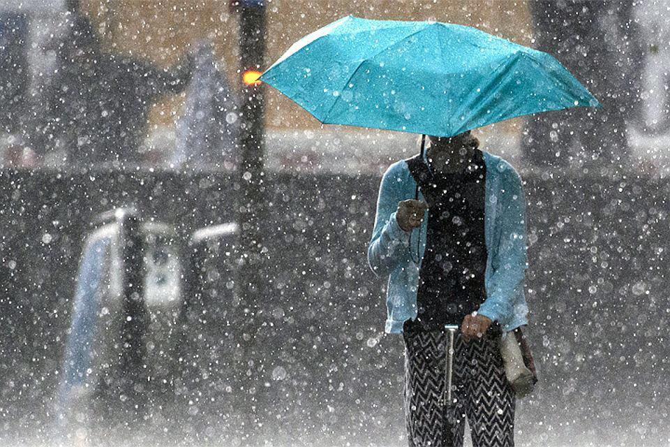 В Северной Осетии ожидаются сильные дожди с градом
