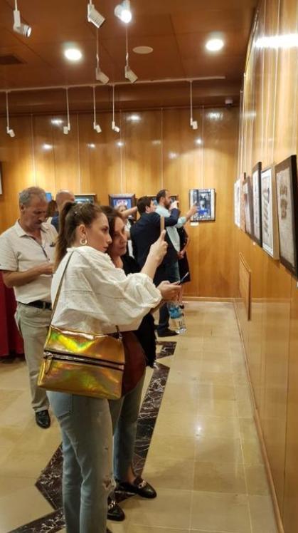 В Стамбуле представили работы художников Северной и Южной Осетии