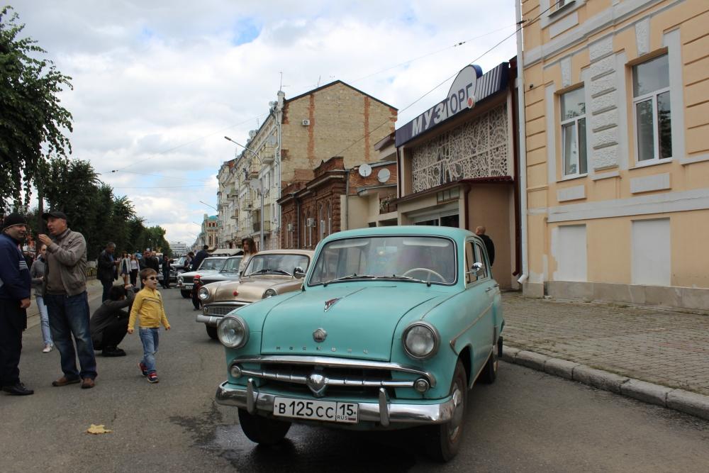 В День города  во Владикавказе пройдет выставка ретро-автомобилей