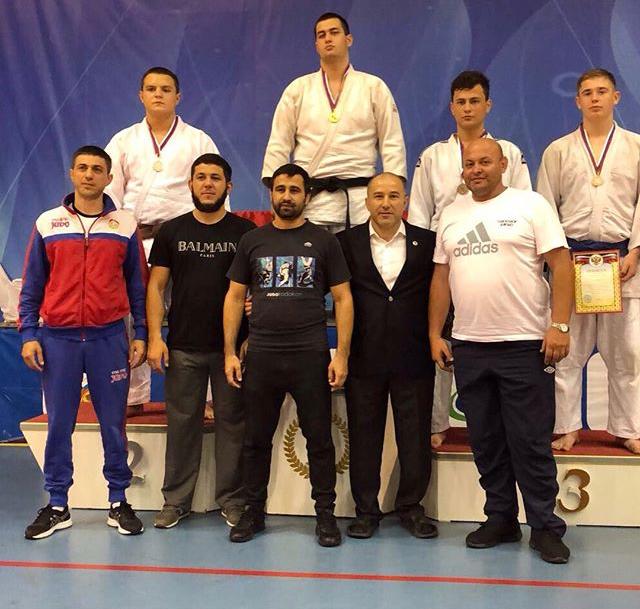 Сборная Северной Осетии по дзюдо на первенстве в Нальчике завоевала 22 медали