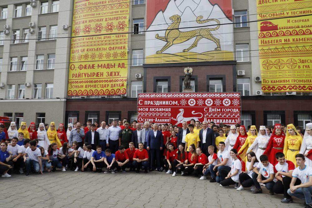 Владикавказ принял участие в массовом флешмобе