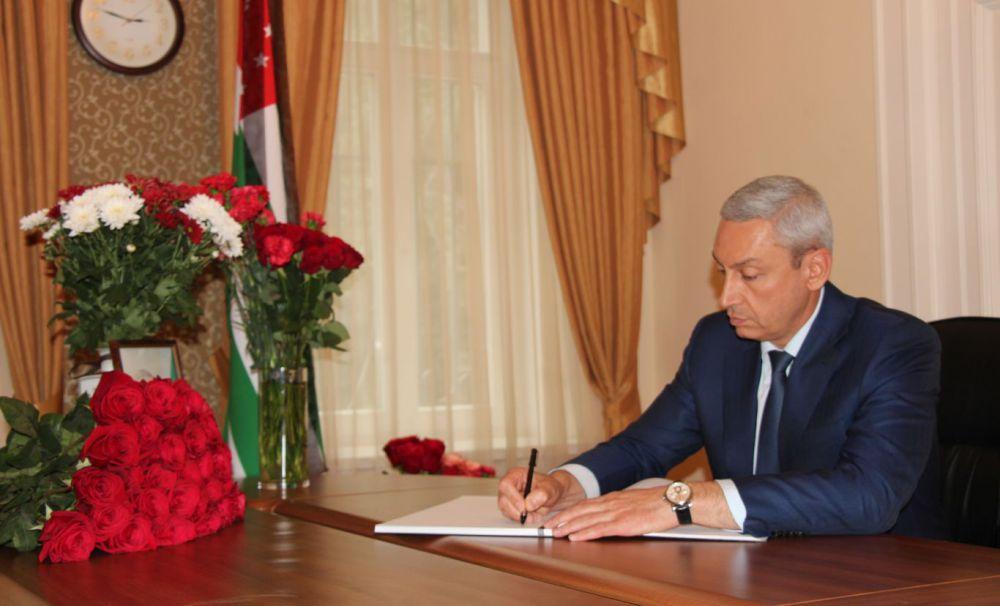 Борис Джанаев выразил соболезнования в связи с гибелью премьер-министра Абхазии Геннадия Гагулия