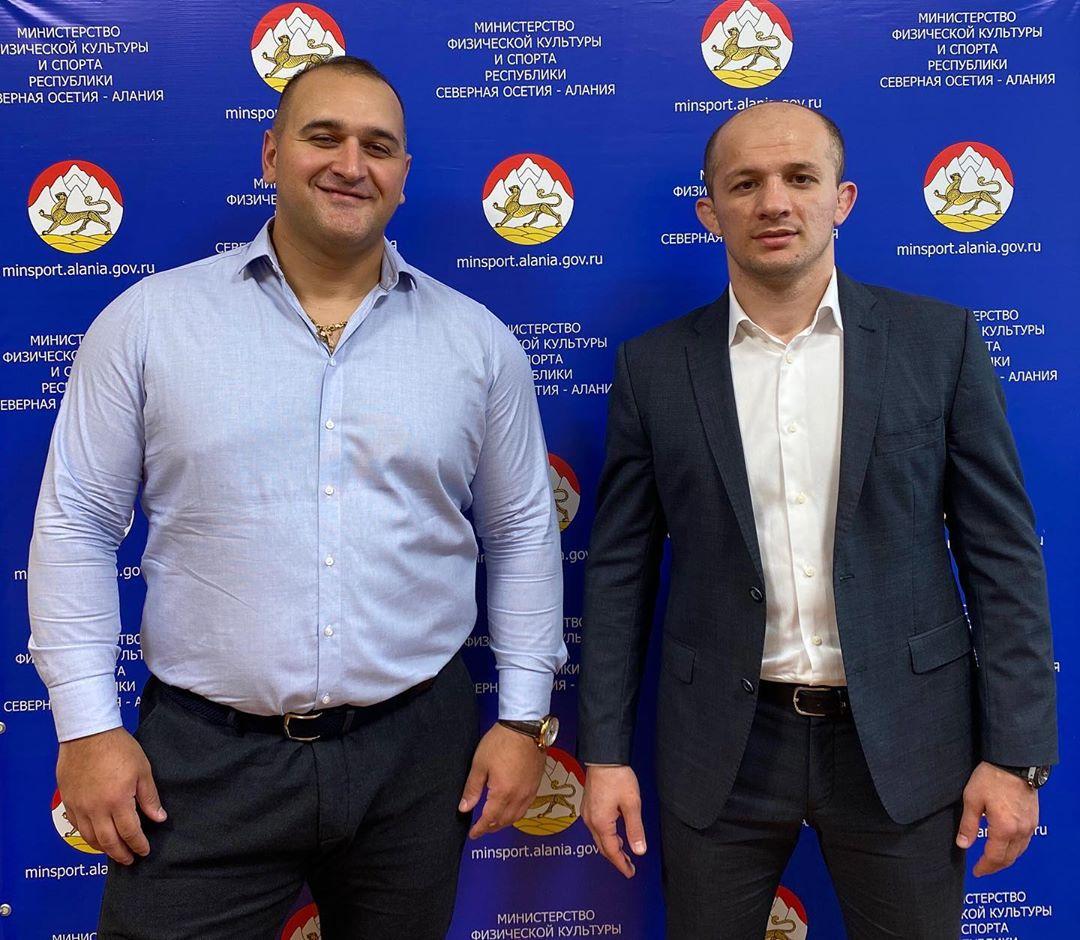 Бронзовый призер Олимпийских игр Руслан Албегов назначен директором спортивной школы по тяжелой атлетике