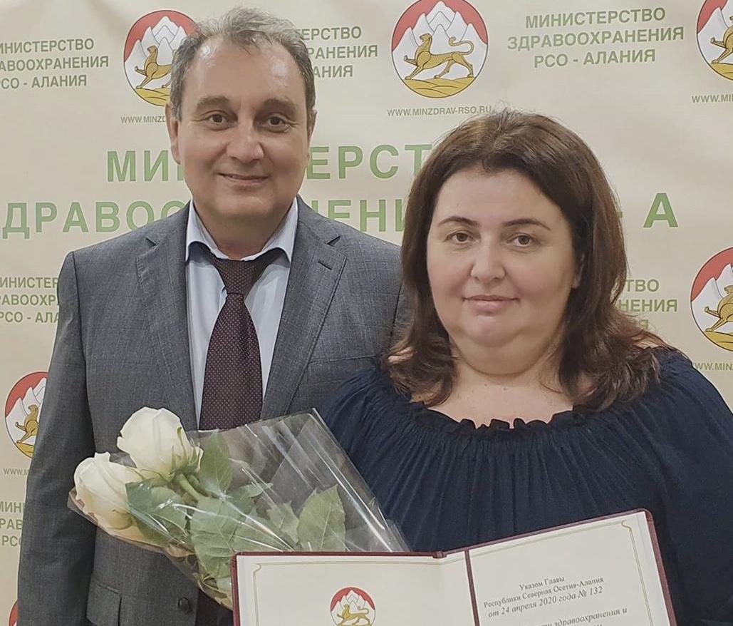 Акушер-гинеколог Софья Едзиева удостоена звания «Заслуженный врач Республики Северная Осетия-Алания»