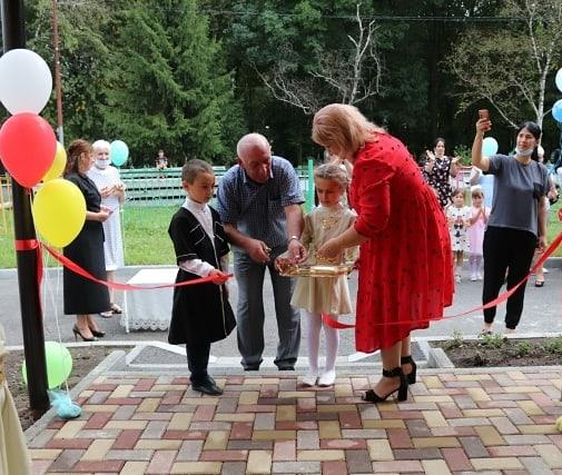В Пригородном районе открыли две пристройки к детским садам на 40 мест