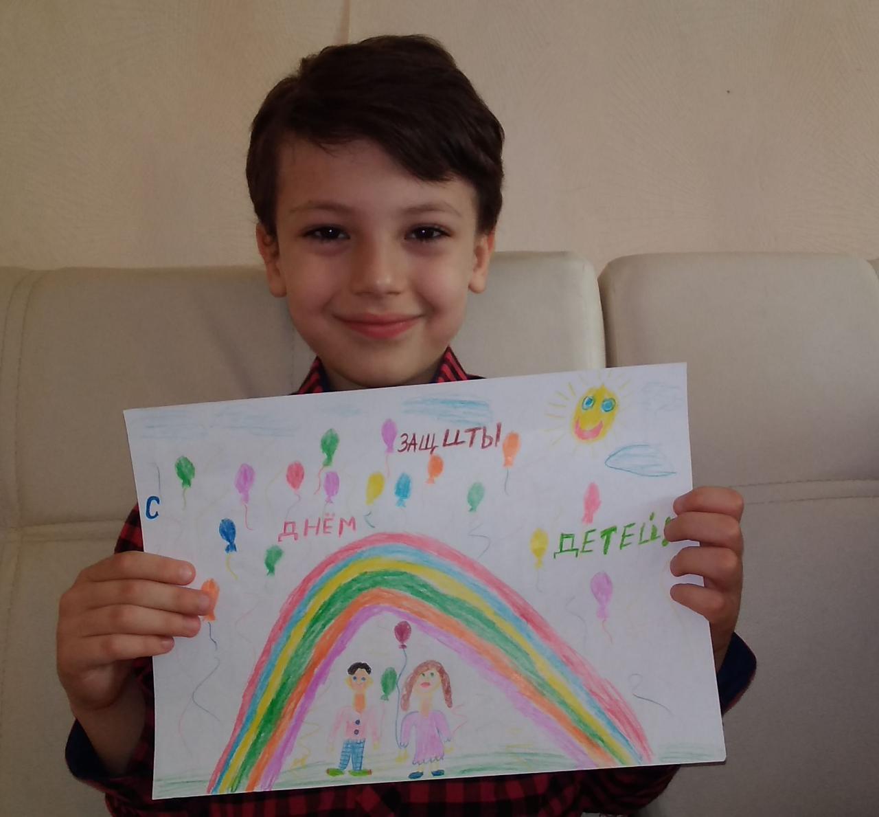 Школьники из Северной Осетии запустили акцию «Я рисую для нового друга» в поддержку детей-инвалидов