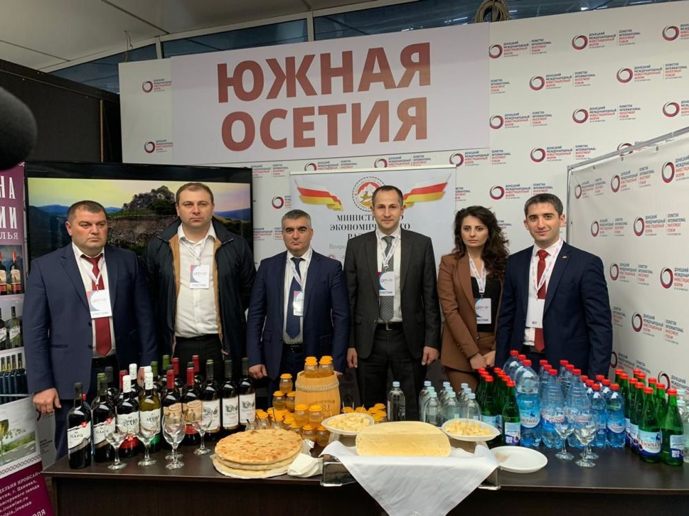 Винодельческое предприятие из Южной Осетии экспортировало в Луганск первую партию вина и коньяка